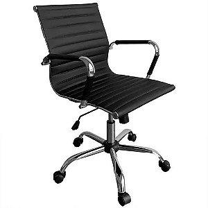 Cadeira Escritorio Executiva Giratoria Premium Preto(MOCH-EXECPRM/BK)