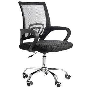 Cadeira Escritorio Executiva Giratoria New(MOCH-NEW/BK)