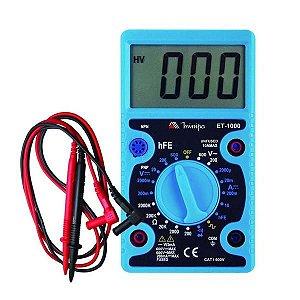 MULTIMETRO DIGITAL ET-1000