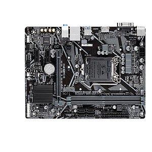 Placa Mae Gigabyte H410m-H Micro Atx Ddr4 LGA 1200