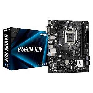 Placa Mae AsRock B460M-HDV LGA 1200 Intel 10 Geração