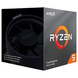 Processador AMD Ryzen 5 3600XT Box AM4 / 4.5GHz / 35MB Cache