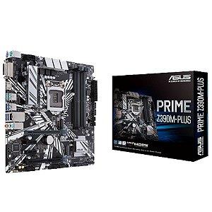 Placa Mae Asus Prime Z390M PLUS Micro Atx Ddr4 LGA 1151
