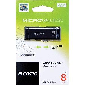 PEN DRIVE SONY RETRÁTIL 8GB USM8GR - SONY
