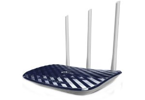 Roteador TP-Link Archer C20 AC750 Wireless Dual Band 2,4/5Ghz 3 Ant Fixas 5dBi