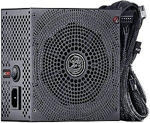 FONTE ATX 500W REAL ELECTRO V2 SERIES 80 PLUS WHITE 3 ANOS - ELV2WHPTO500W - PCYES