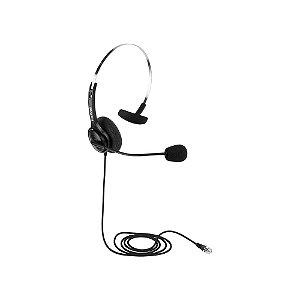 Headset Intelbras CHS40 RJ9, Microfone flexivel - Preto