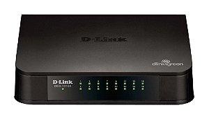 Switch 16 portas D-LINK DES-1016A 10/100Mbps