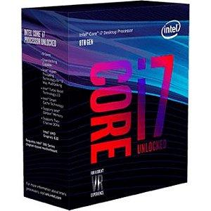Processador Intel Core i7 8700k 3.7GHz Cache 12Mb LGA 1151 8ª Ger. - BX80684I78700K