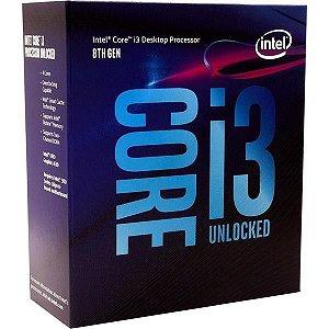 Processador Intel Core i3 8100 3.6GHz Cache 6Mb LGA 1151 8ª Ger. - BX80684I38100