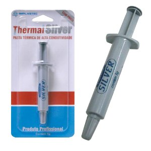 PASTA TÉRMICA THERMAL SILVER 5G BLISTER - IMPLASTEC