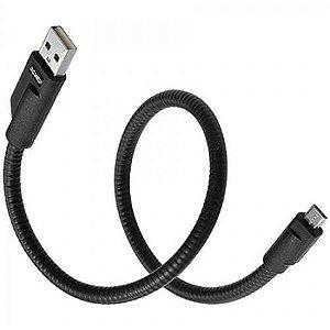 CABO RÍGIDO USB PARA MICRO USB 45 CM - LINHA MOBI - PCYES (CST 260)