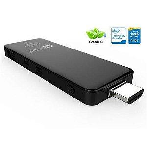 COMPUTE STICK INTEL ANDROID 4.4 ULTRA COMPACT PC Z3735 QUAD CORE 2G 32GB SLOT MICRO SD HDMI USB WIFI BT GRAF HD(CST 460)