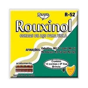 ENCORDOAMENTO VIOLA 10C C/BOLINHA R52 - ROUXINOL (CST 260)