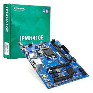 PLACA MAE PCWARE IPMH410E - DDR4 - MATX - INTEL 10 GER. SOCKET 1200 - VGA/HDMI/SERIAL/M.2