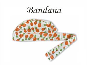 Bandana - Touca Pirata Abacaxi - ( unisex ) -  Uniblu