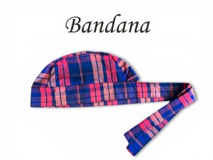 Bandana - Touca Pirata Xadrez Lord - ( unisex ) -  Uniblu