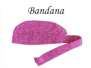 Bandana - Touca Pirata Floral Pink - ( unisex ) -  Uniblu