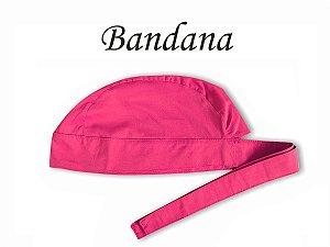 Bandana - Touca Pirata PInk - ( unisex )  Uniblu