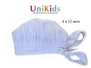 Touca Unikids - Branca - Uniblu