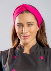 Turbante Gabardine Pink - Uniblu