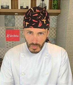 Bandana - Touca Pirata  Pimentas - ( unisex )  Uniblu