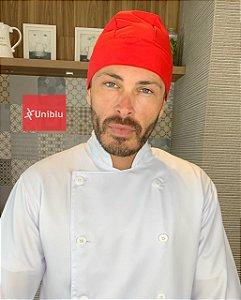 Bandana - Touca Pirata Vermelha - ( unisex )  Uniblu