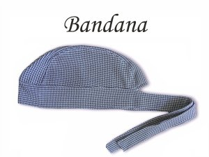 Bandana - Touca Pirata Pedie pull Xadrez - ( unisex ) -  Uniblu