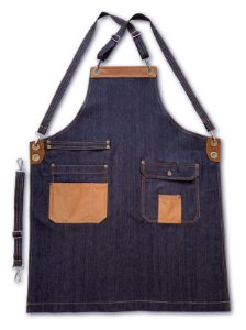 Avental Vintage Jeans - Uniblu