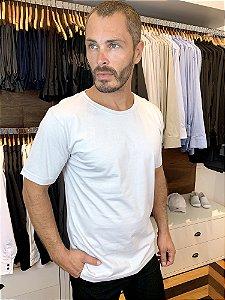 Camiseta Malha 100% algodão Cor Branca - Uniblu