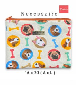 Necessaire - Estampa Dog  - Uniblu