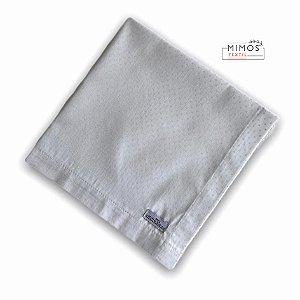 Guardanapo de Mesa - Poá Branco - Mimos Têxtil