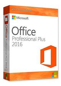 Office 2016 Pro Plus 32/64 Bits - Licença Vitalícia + Nota Fiscal