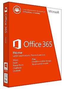 Office 365 - 10 Licenças - 5TB De HD Virtual Onedrive - (Pc, Mac, Android Ou Ios) + Nota Fiscal