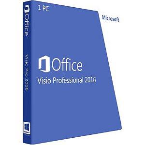 Visio 2016 Professional - 32/64 BITS - Licença Vitalícia + Nota Fiscal