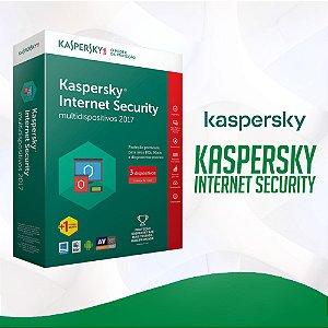 Kaspersky Internet Security 2021 - Licença Para 1 Dispositivo + Nota Fiscal