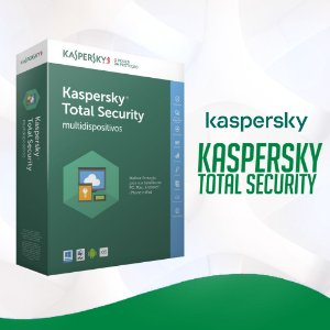 Kaspersky Total Security 2021- Licença Para 1 Dispositivo + Nota Fiscal