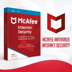 McAfee Internet Security  - Licença Para 1 Dispositivo + Nota Fiscal
