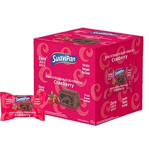 Bombom Chocolate 35% ao Leite Recheado com Cranberry 15G