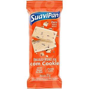 Barra De Chocolate Branco 35% Com Cookie 20G