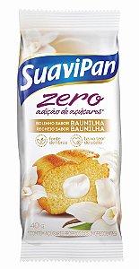 Bolinho Zero Açúcar Baunilha SuaviPan Display c/ 12 Unid