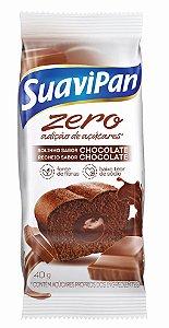 Bolinho Zero Açúcar Chocolate SuaviPan Display c/ 12 Unid