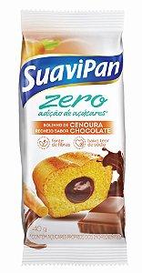 Bolinho Zero Açúcar Cenoura c/ Chocolate SuaviPan Display c/ 12 Unid
