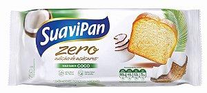Bolo Zero Açúcar de Coco SuaviPan 250g