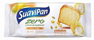 Bolo Zero Açúcar de Fubá SuaviPan 250g
