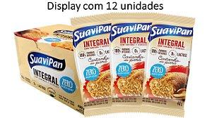 Bolinho Castanha do Pará Integral SuaviPan Display c/ 12 Unid