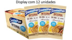 Bolinho de Amendoim Integral SuaviPan Display c/ 12 Unid