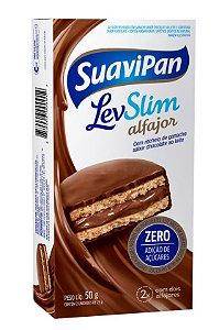 Multipack Alfajor LevSlim Chocolate ao Leite c/ 2 Unid.
