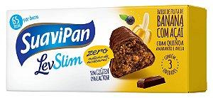 Multipack Barrinha SuaviPan de Banana Zero Açúcar c/ 3 Unid.