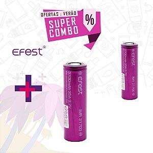 Combo - Bateria Efest - 2 unidades 3000mAh